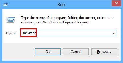 Type-taskmgr-in-run-box